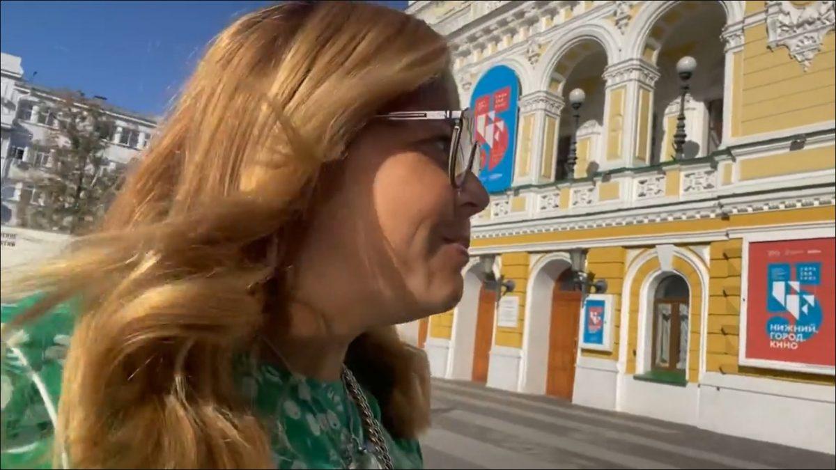 Ирина Пегова приехала в Нижний Новгород и собрала миллион подписчиков