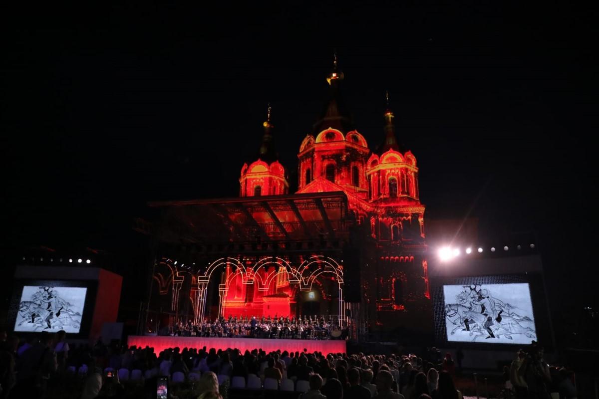 Кантата Сергея Прокофьева «Александр Невский» прозвучала укафедрального собора вНижнем Новгороде