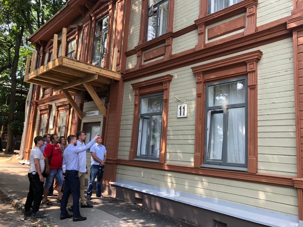 11 домов-объектов культурного наследия будет отремонтировано вцентре Нижнего Новгорода попрограмме капитального ремонта