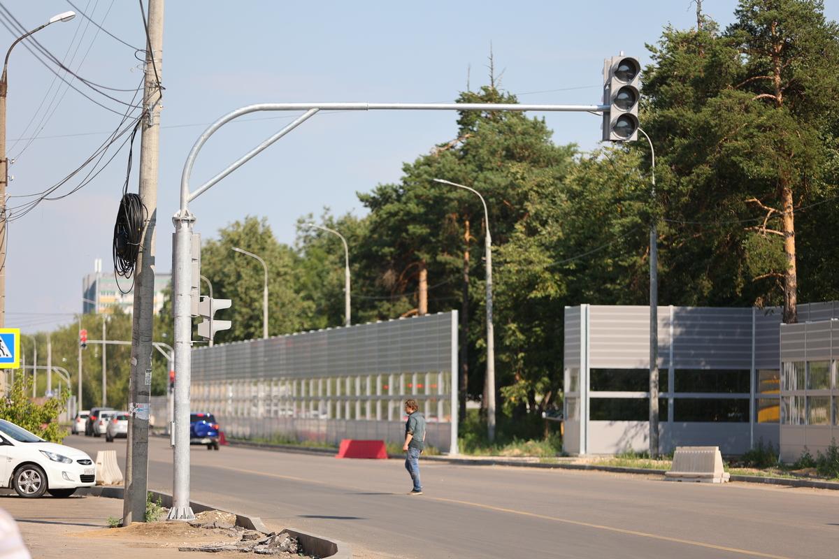 Реконструкция дороги наул.Красноармейской вДзержинске завершена на80%