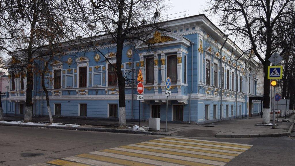 Фасад Литературного музея в Нижнем Новгороде отреставрируют к концу года