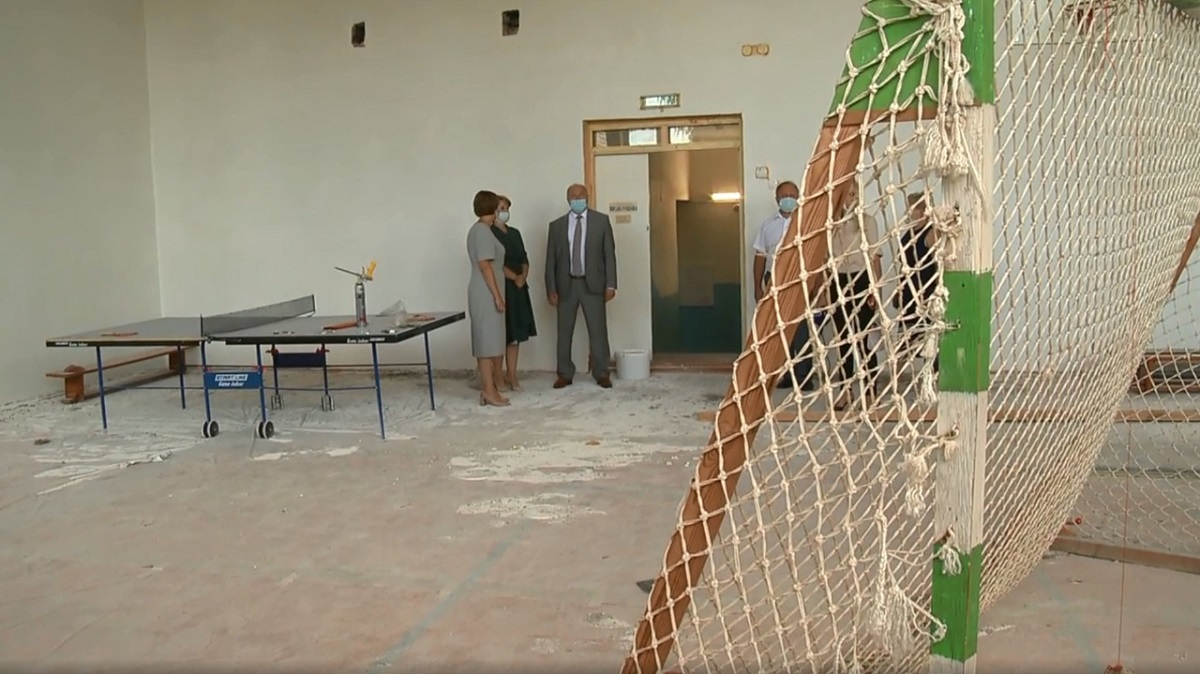 Детский сад и школу капитально ремонтируют в Перевозе в рамках госпрограммы