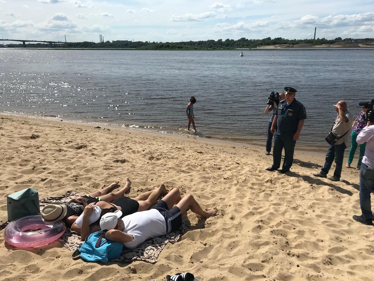 31 протокол за купание в неположенных местах составлен в Нижнем Новгороде