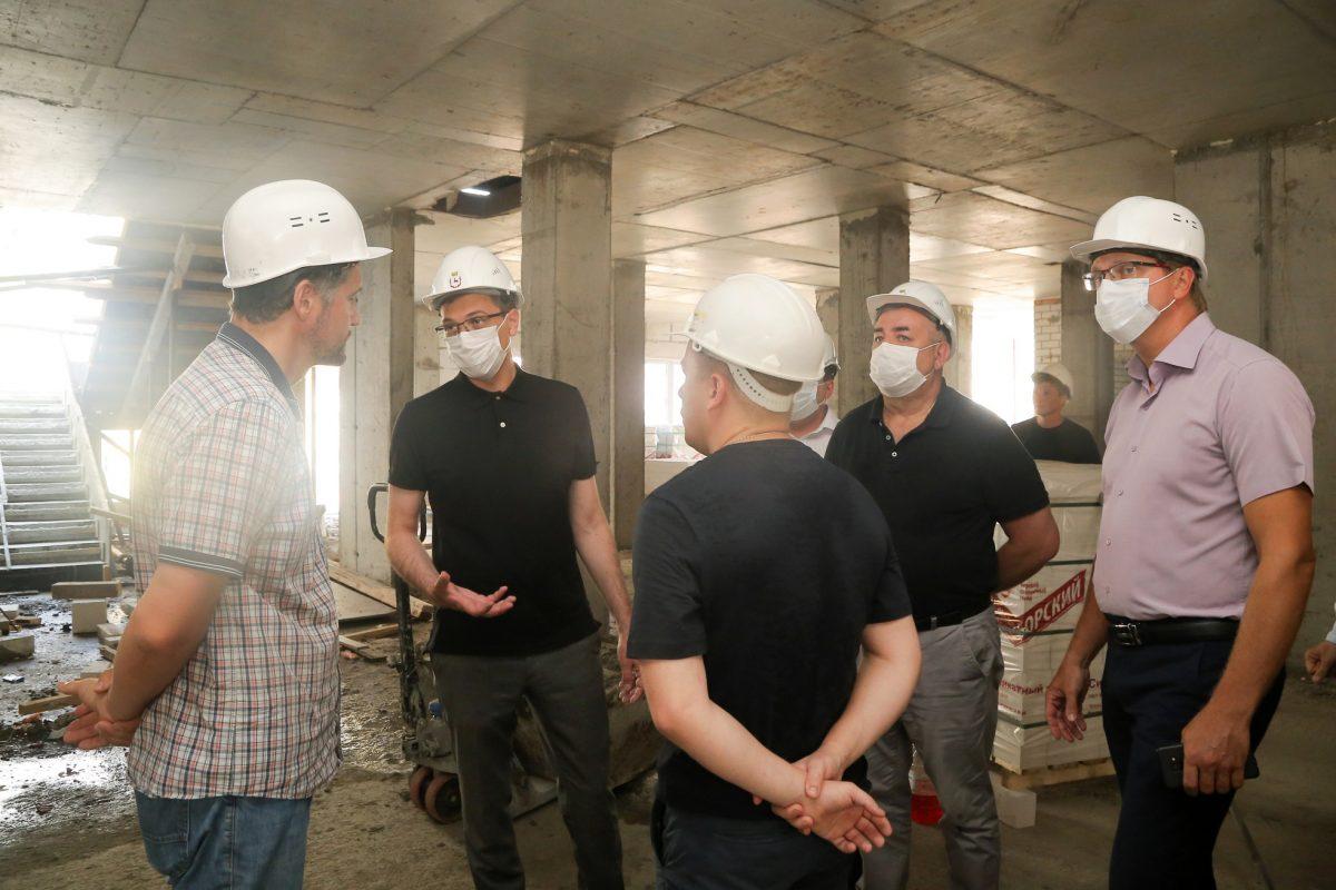 Юрий Шалабаев потребовал ускорить строительство детского сада в Новой Кузнечихе