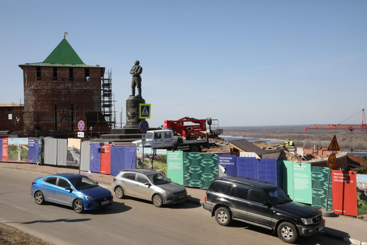 Движение транспорта изменится на площади Минина и Пожарского
