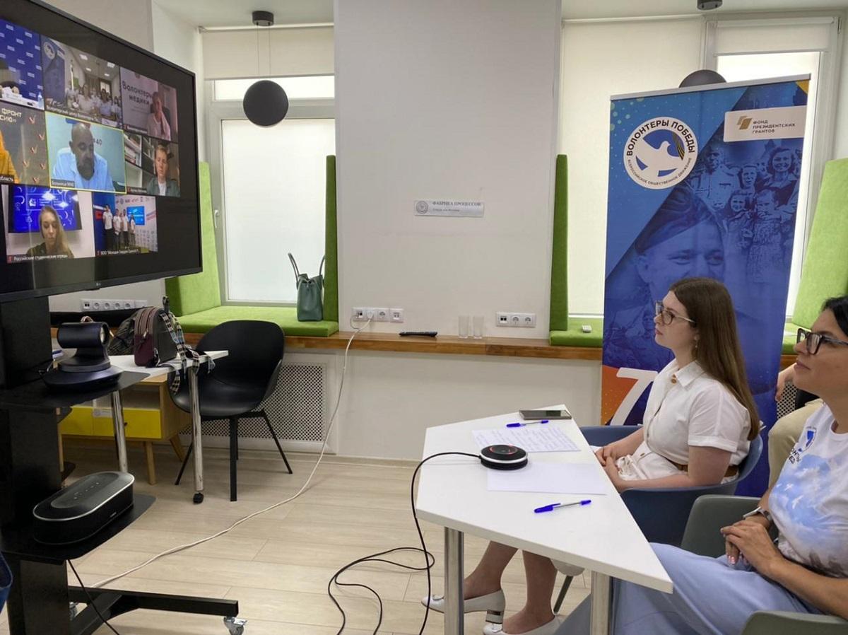 ВНижегородской области активизирует работу центр волонтеров Победы