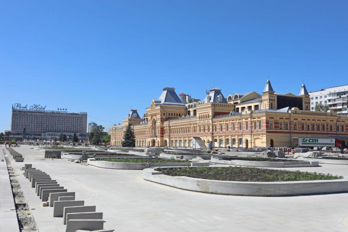 Фонтан на Нижегородской ярмарке восстановят к юбилею города