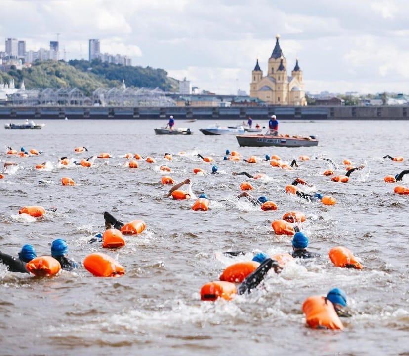 Спортсмены из 160 городов России пересекут Волгу в ближайшие выходные
