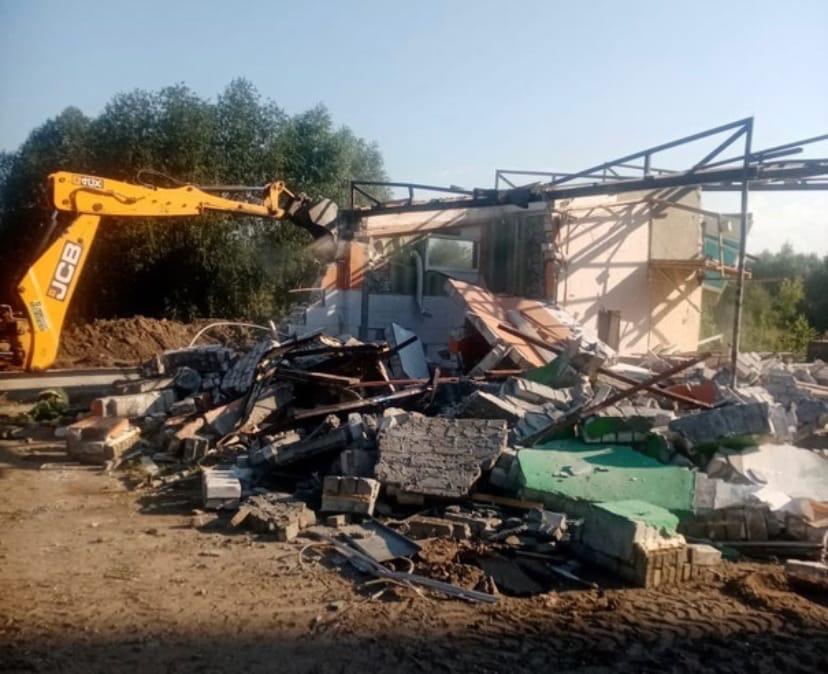 Нелегально установленные торговые павильоны снесут в Автозаводском районе