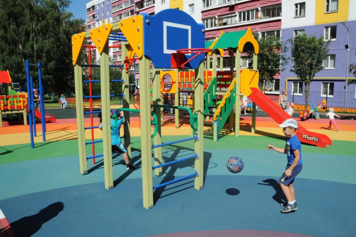 Детскую площадку построят в деревне Бешенцево Приокского района