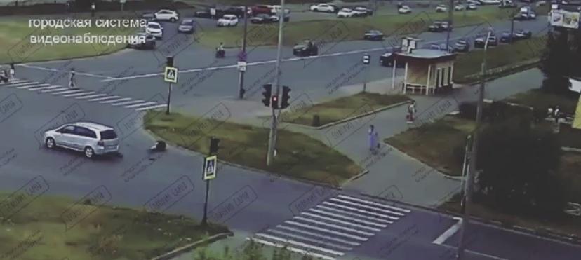 Водитель Opel сбил подростка на самокате на пешеходном переходе в Сарове