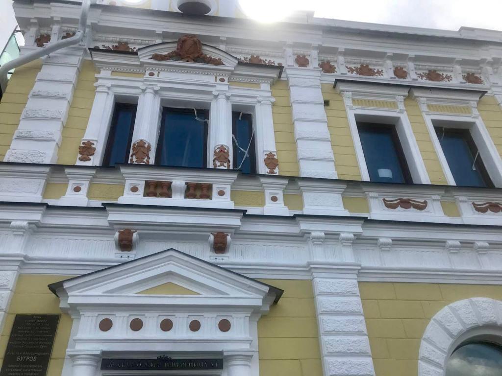 Фасад особняка купца Николая Бугрова отреставрировали в Нижнем Новгороде