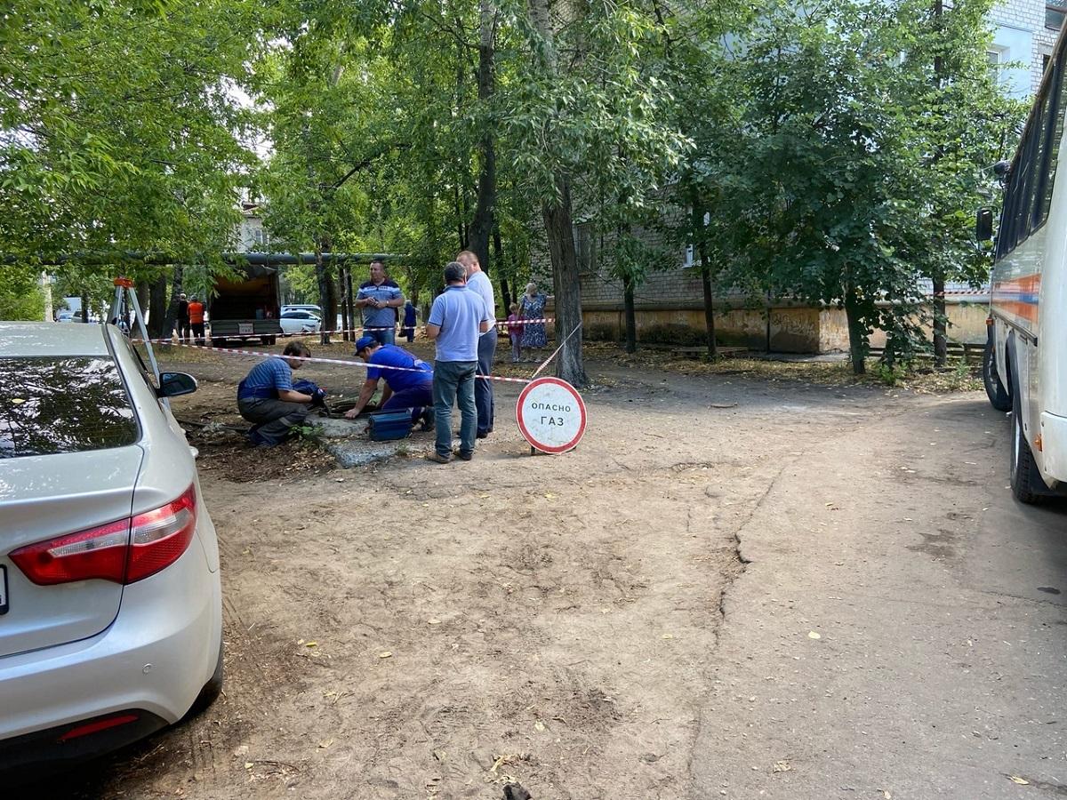 Хлопок газа в доме на улице Светлоярской мог произойти из-за взрыва баллона