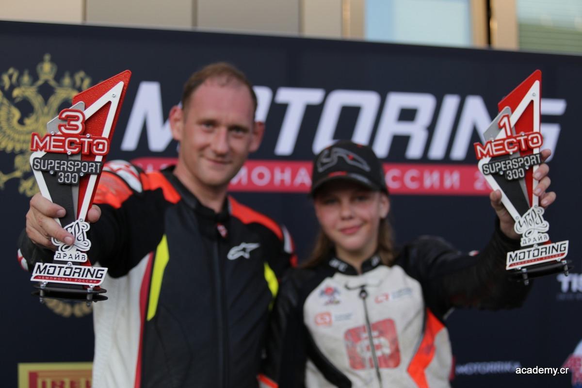 Нижегородские спортсмены стали призерами пятого этапа Чемпионата России по шоссейно-кольцевым мотогонкам MOTORING
