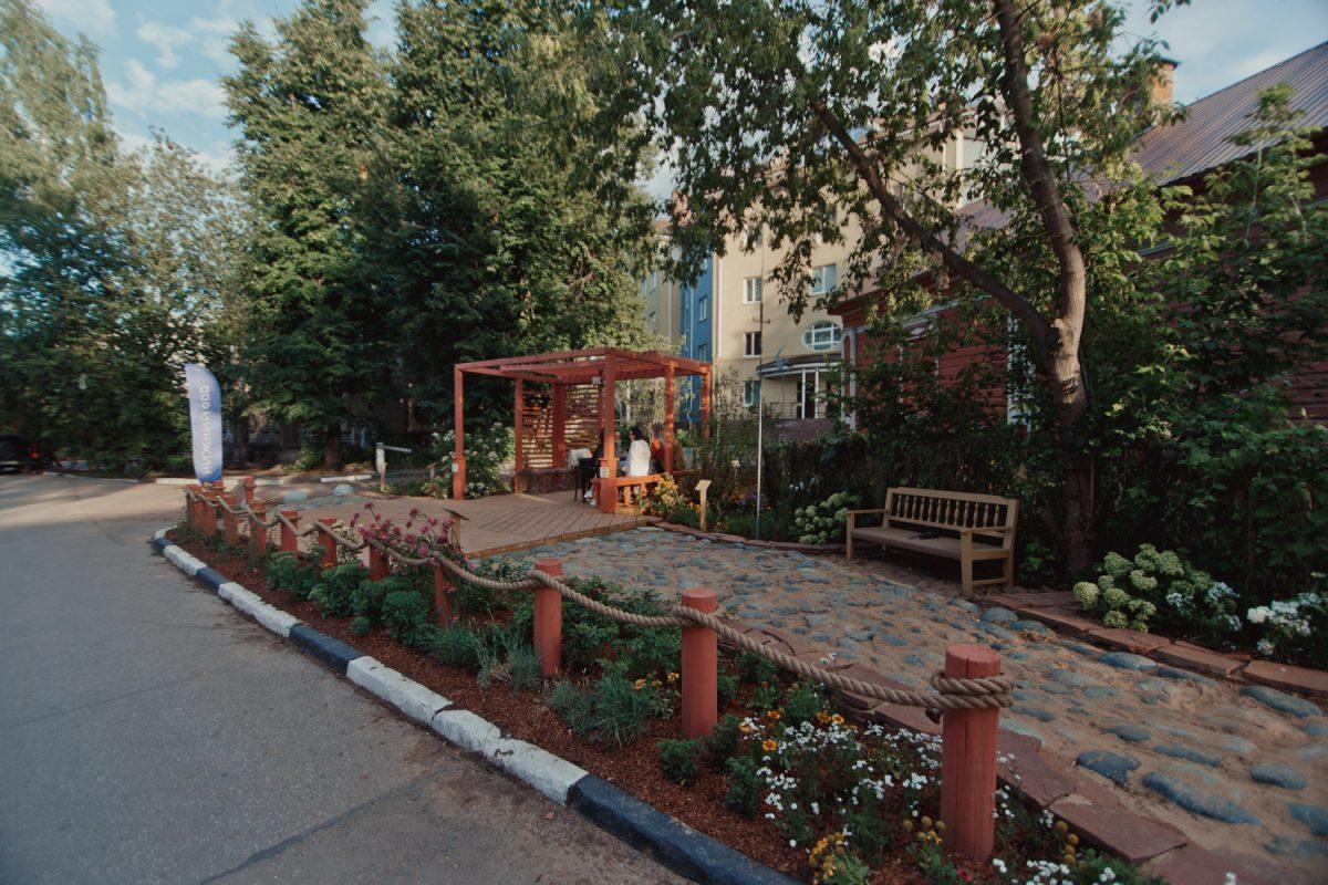Садный инстинкт: в Нижнем Новгороде открылся обновленный квартал церкви «Трех Святителей»