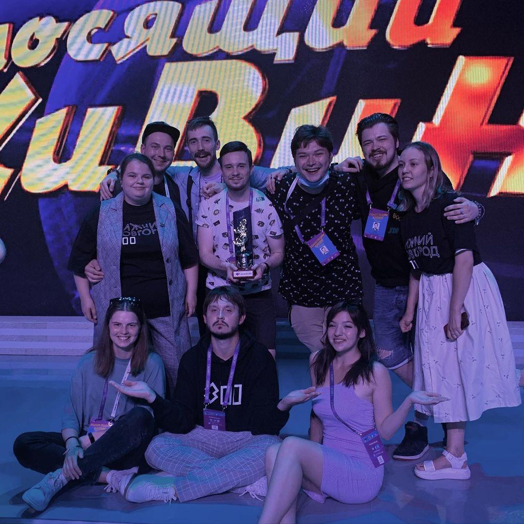Нижегородские «Росы» стали призерами фестиваля «Голосящий КиВиН 2021»