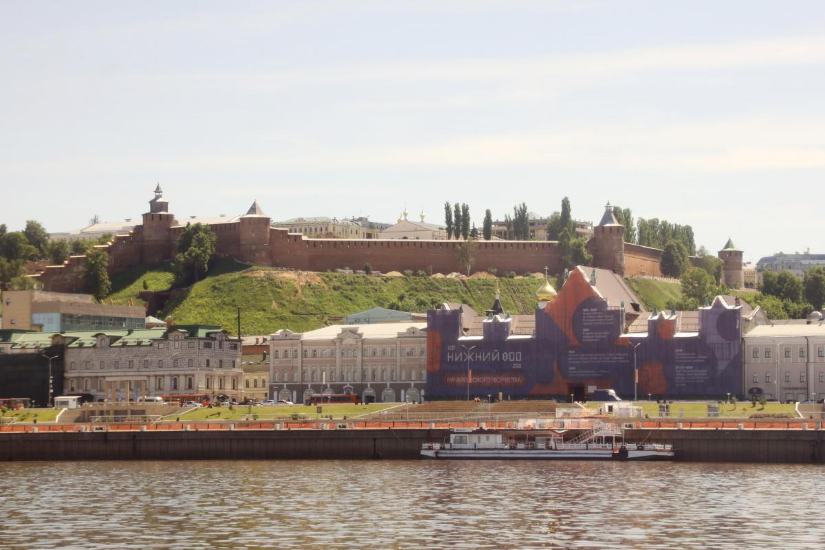 Каждый второй нижегородец считает главной достопримечательностью города Нижегородский кремль