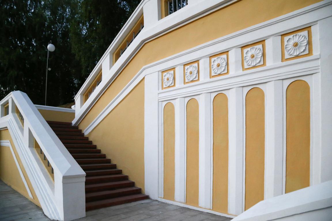 Архитектурно-художественная подсветка появилась на Театральный лестнице в Нижнем Новгороде