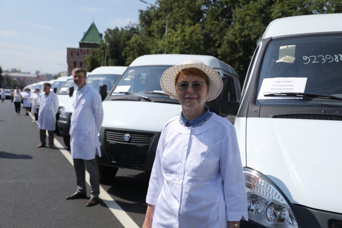Еще 103 новых автомобиля поступят вмедучреждения Нижегородской области