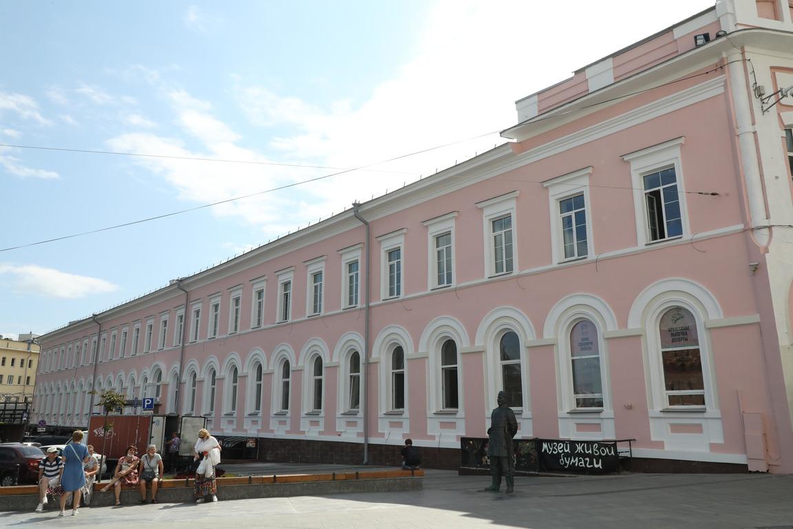 Нареставрацию здания Нижегородского выставочного комплекса направлено более 67 млн рублей