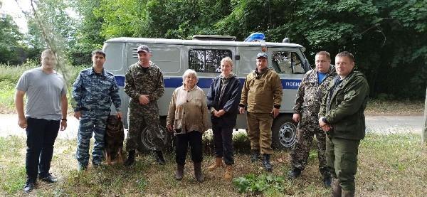 Полицейские нашли пропавшую в Вадском районе 80-летнюю пенсионерку