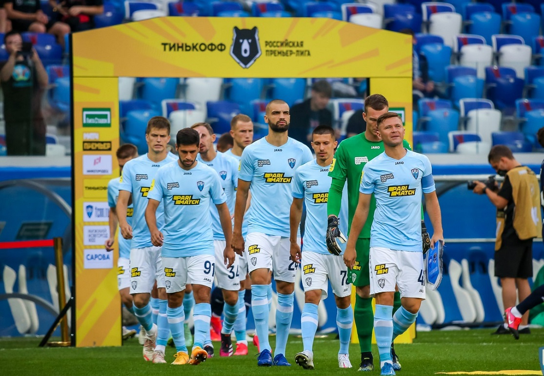 Спонсором футбольного клуба «Нижний Новгород» стала компания GloraX