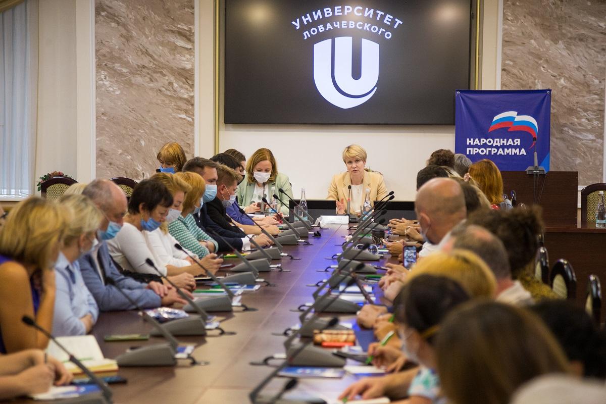Елена Шмелева: «Нижегородская область станет примером для других регионов по реализации многих образовательных программ»