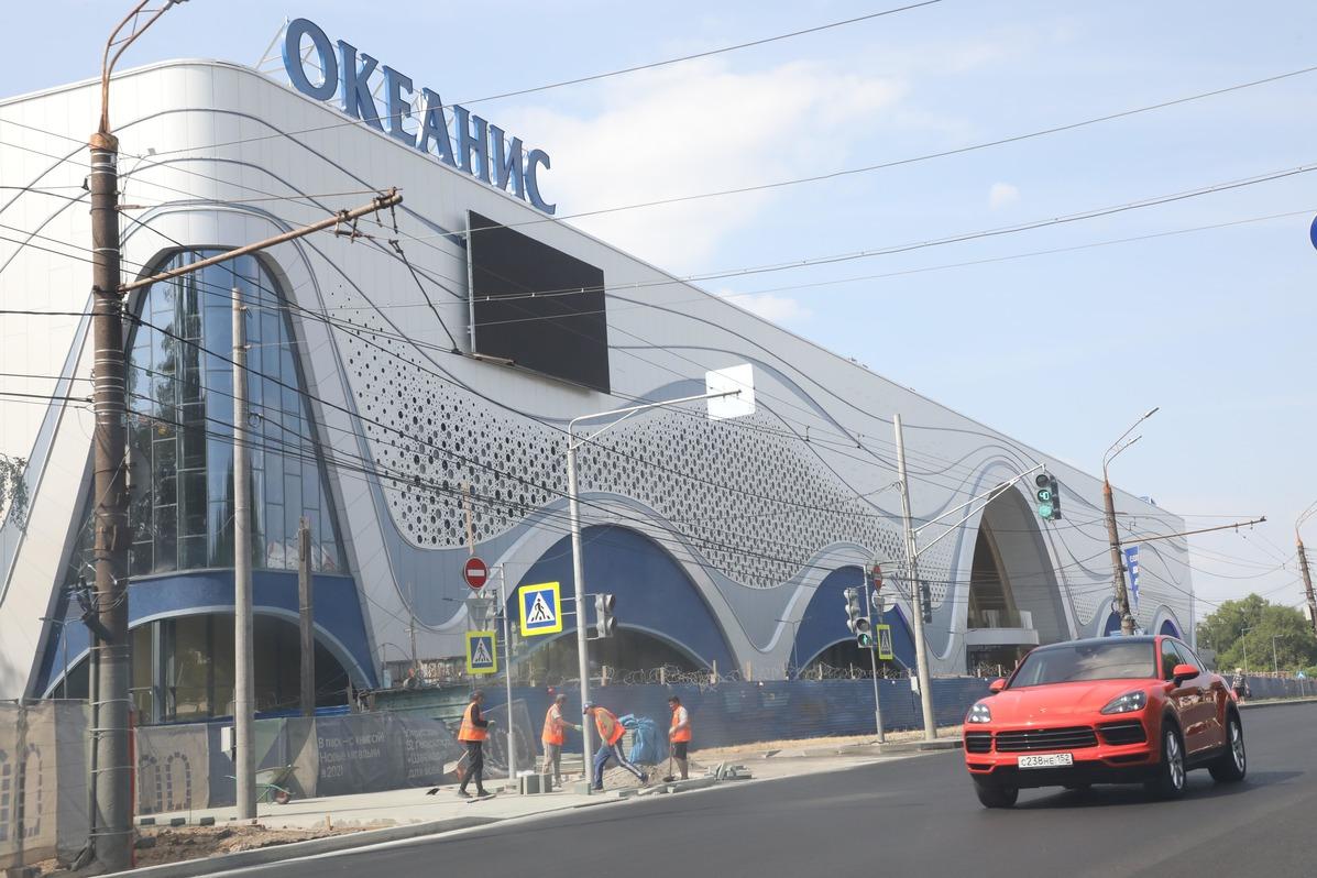 Открытие аквапарка «Океанис» в Нижнем Новгороде перенесли на второе полугодие 2021 года