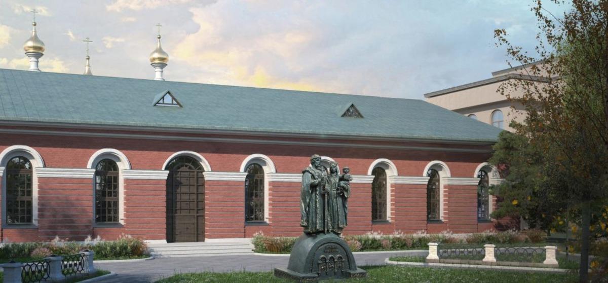 Памятник Дмитрию Донскому и его жене Евфросинии откроют 30 июля в Нижегородском кремле