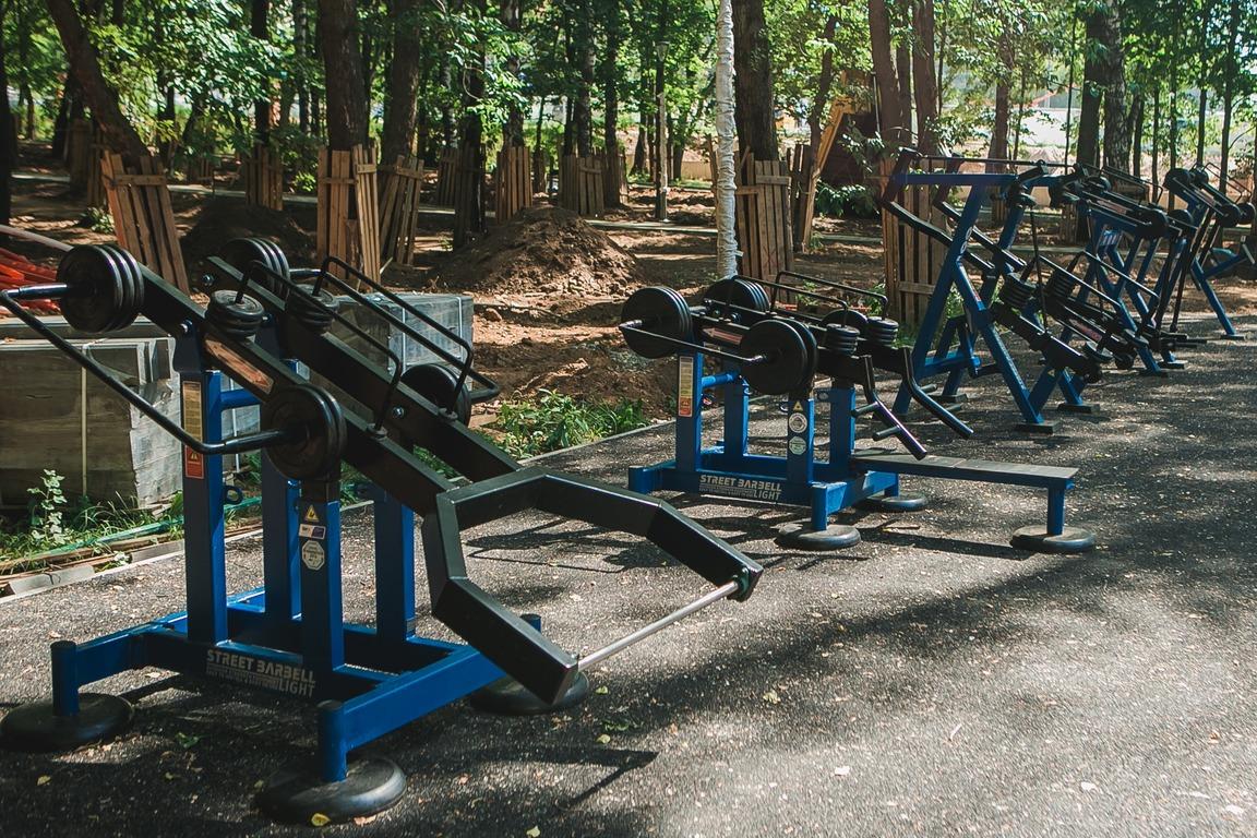 Спортивная зона с 4577 объектами разместится в нижегородском парке «Швейцария»