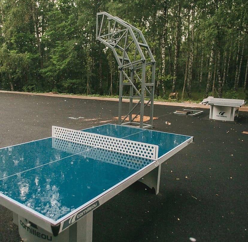 Спортивная площадка с раздевалками разместилась в нижегородском парке «Швейцария»