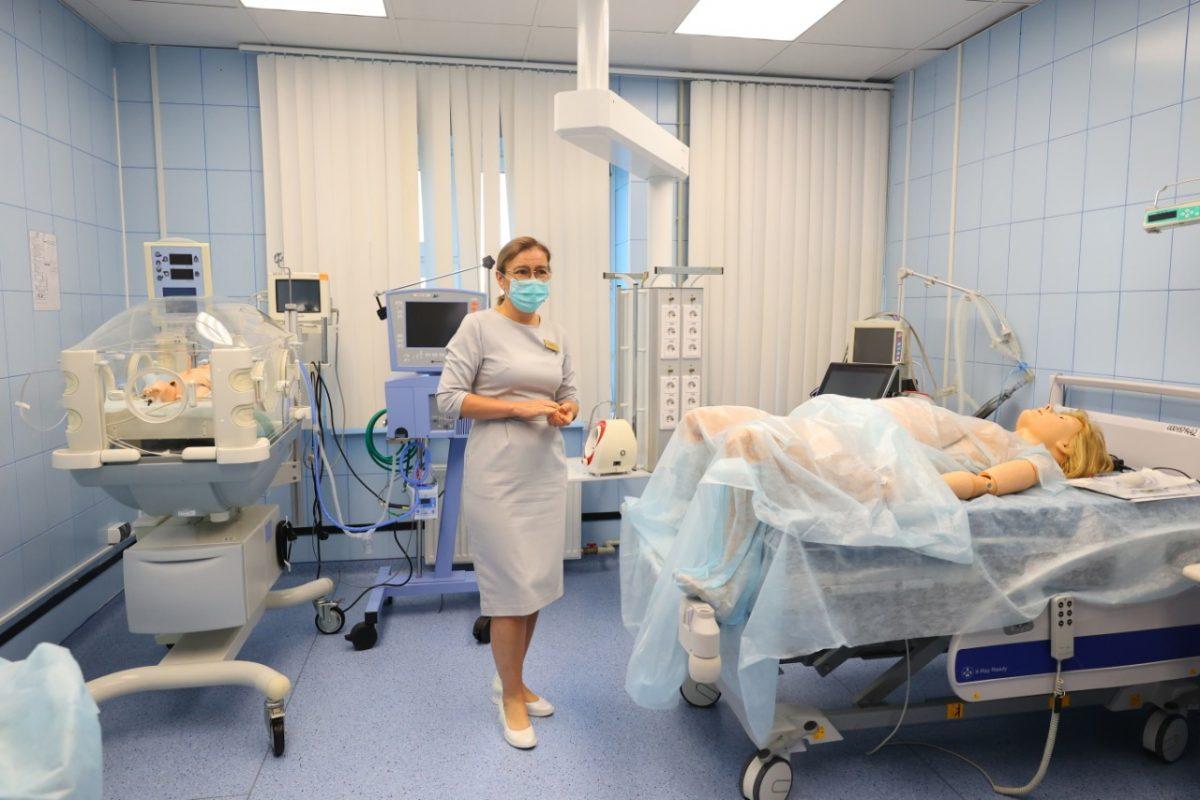 Новый симуляционный зал появился в перинатальном центре в Дзержинске
