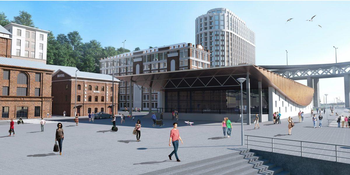 Петербургский застройщик GloraX осуществит проект редевелопмента на улице Черниговской в Нижнем Новгороде