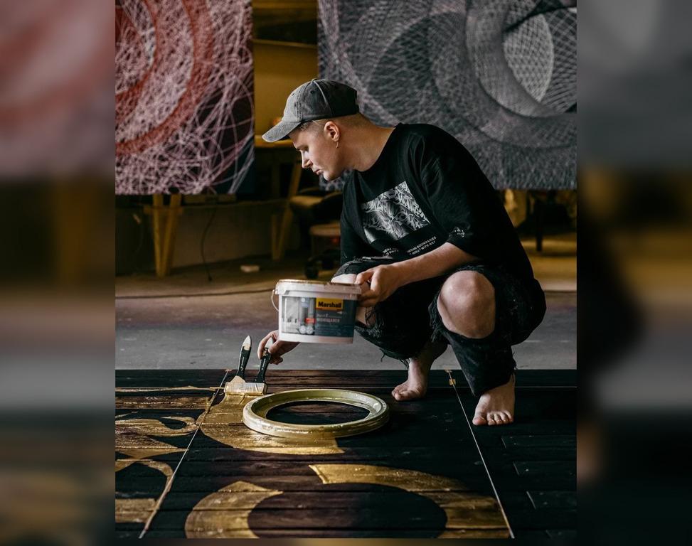 Российский художник Покрас Лампас презентует новую работу в рамках фестиваля Место