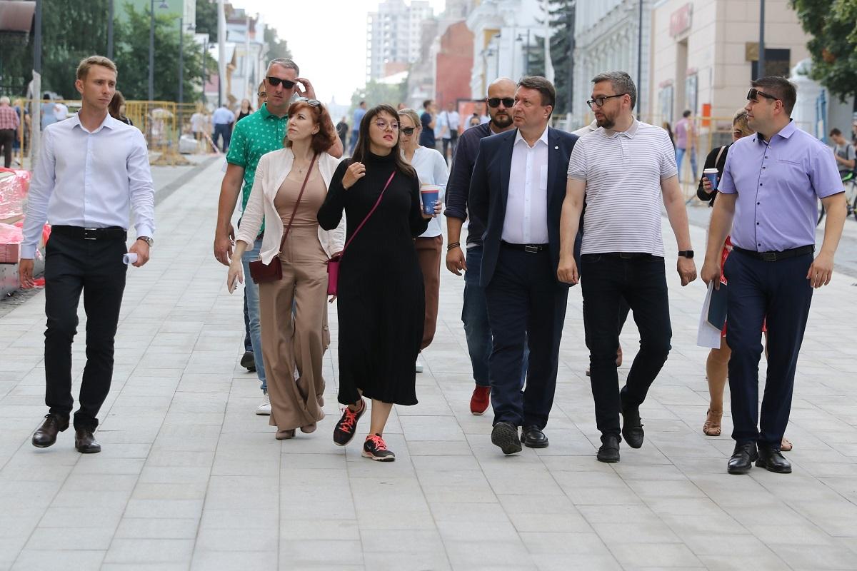 Депутаты Гордумы оценили обновление главной улицы Нижнего Новгорода