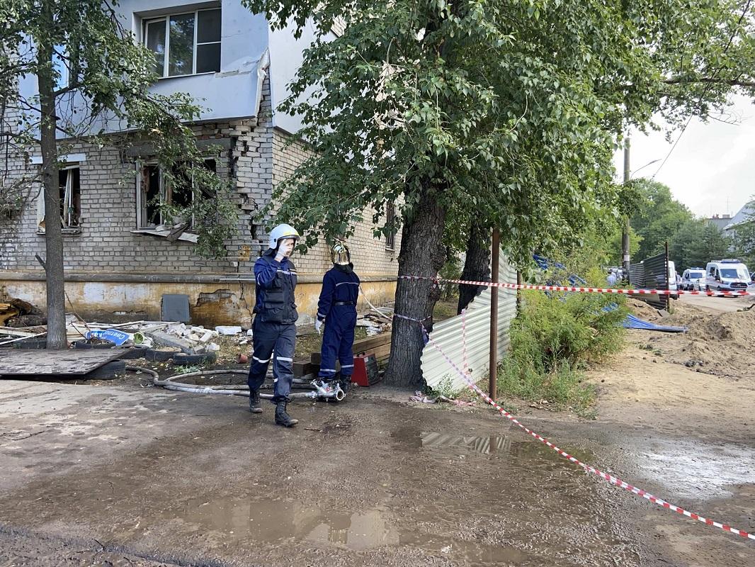 В Сормове ввели режим ЧС из-за взрыва газа