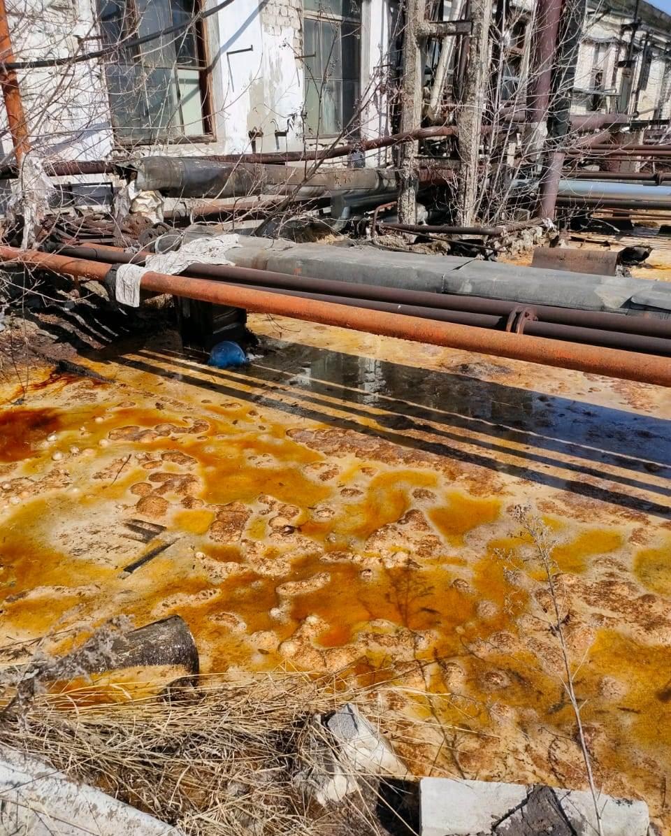 Виновника разлива химических отходов в Дзержинской промзоне оштрафуют