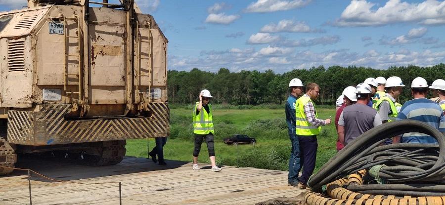 Проект «Учет движения дорожно-строительных материалов» переходит к завершающему этапу