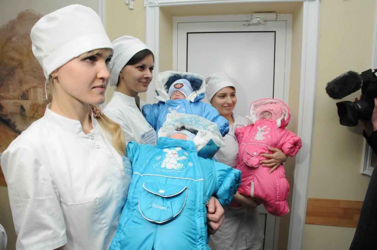 6-килограммовый малыш Иван родился в Нижегородской области