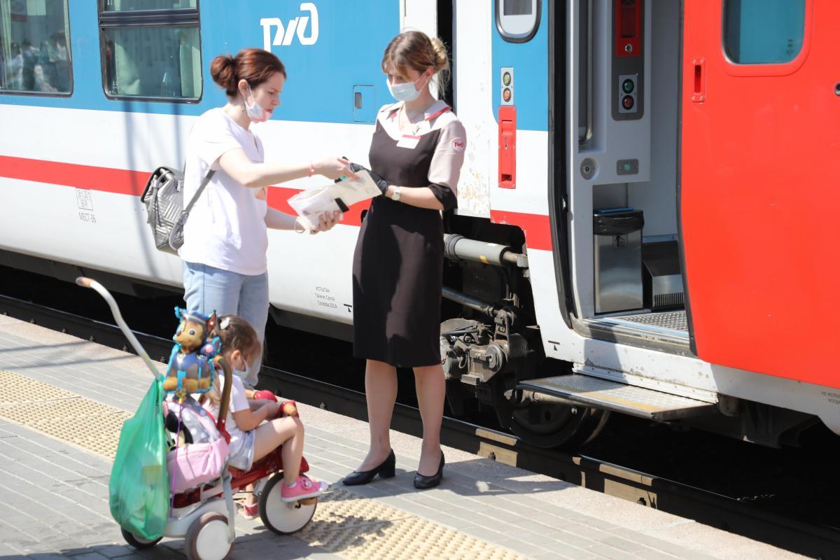 Поезд Нижний Новгород-Адлер вошел в ТОП-15 самых популярных направлений