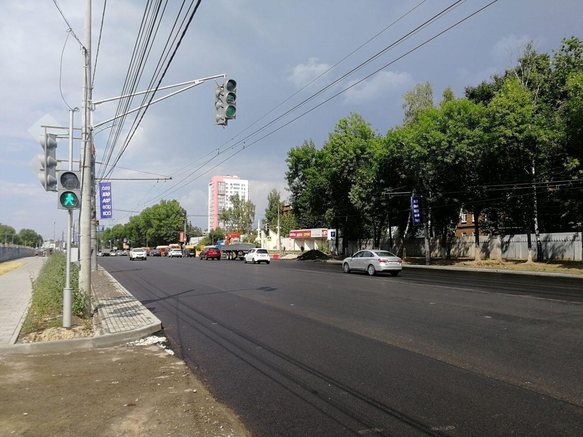 Новые светофоры появились на проспекте Гагарина в Нижнем Новгороде