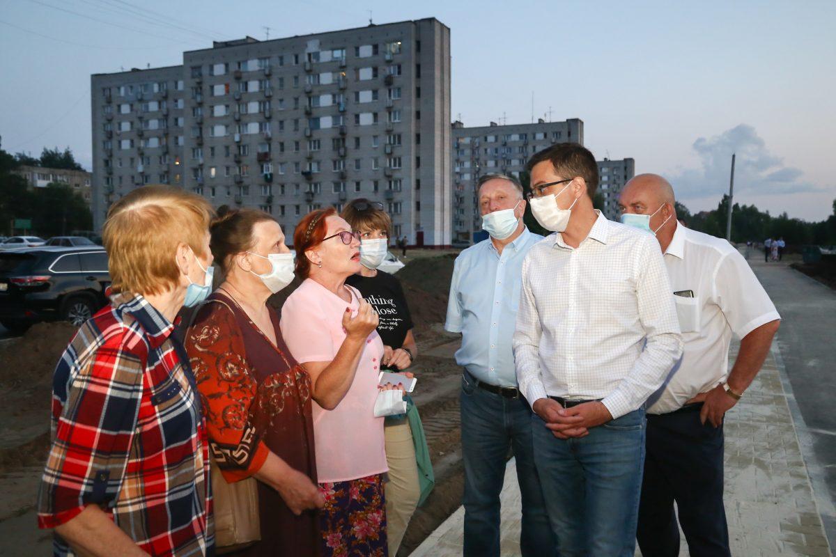 Благоустройство сквера на улице Пермякова в Нижнем Новгороде завершится к августу