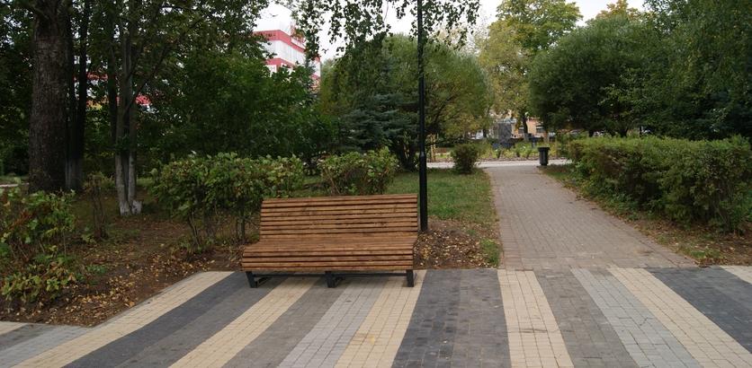 Парковые диваны появятся в Советском районе до конца июля