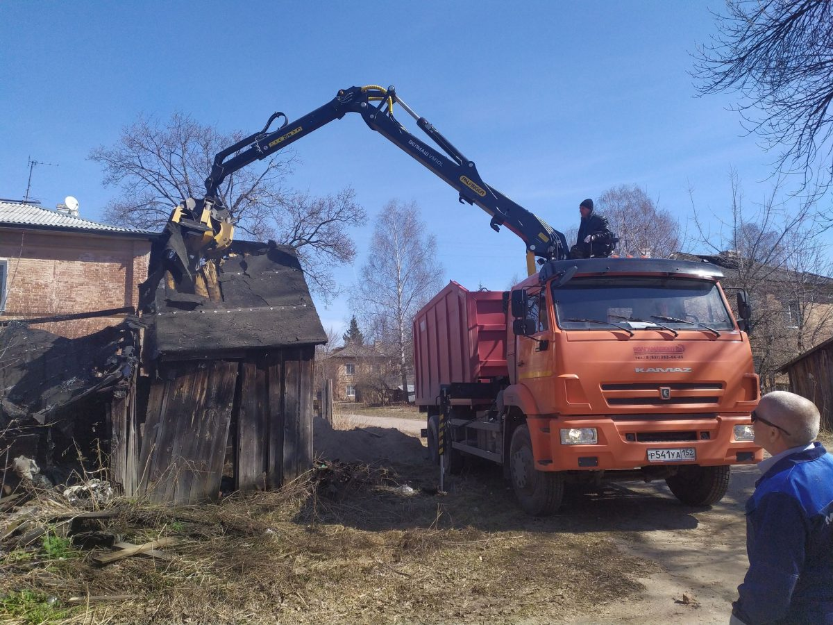 Незаконные сараи снесут на улицах Звездинка и Алексеевская