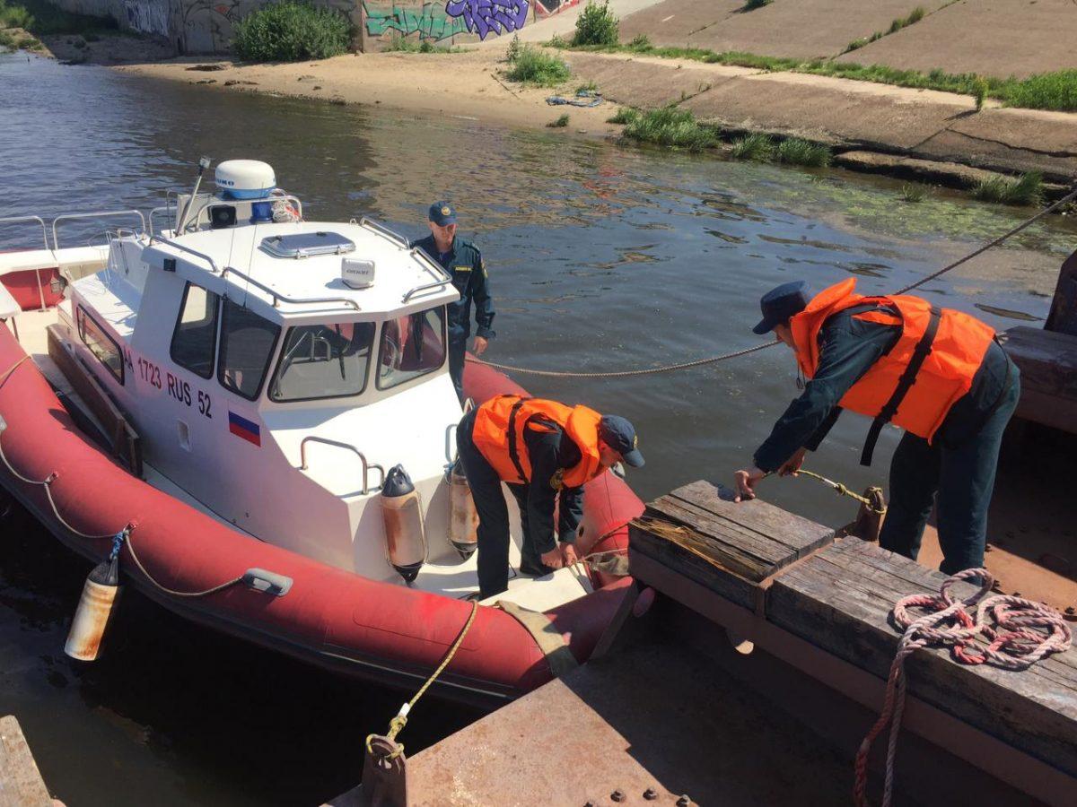 Три подростка попытались переплыть Волгу в Нижнем Новгороде