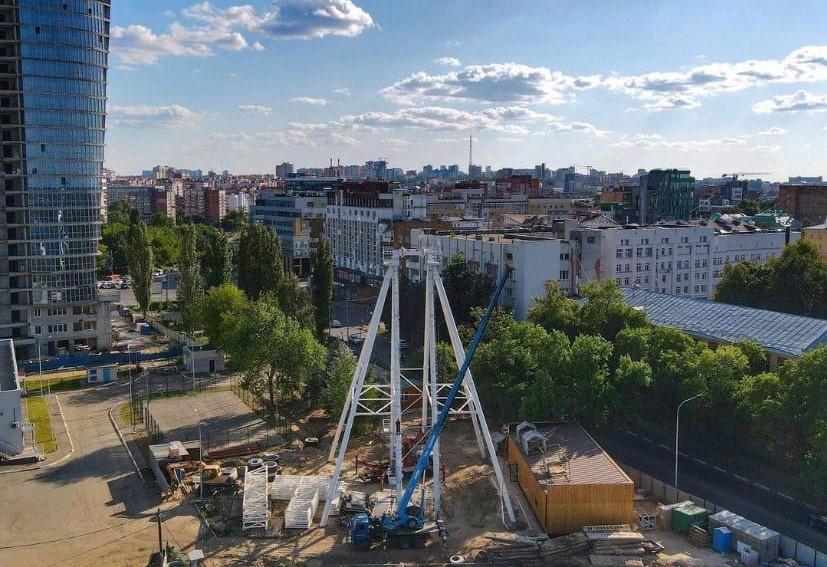 50-метровое колесо обозрения с Tik-Tok-кабинкой откроется к юбилею Нижнего Новгорода