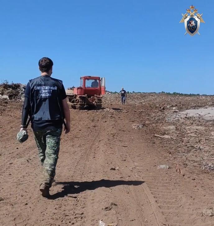 Следователи выясняют, какой ущерб окружающей среде нанесла нелегальная свалка в Балахнинском районе