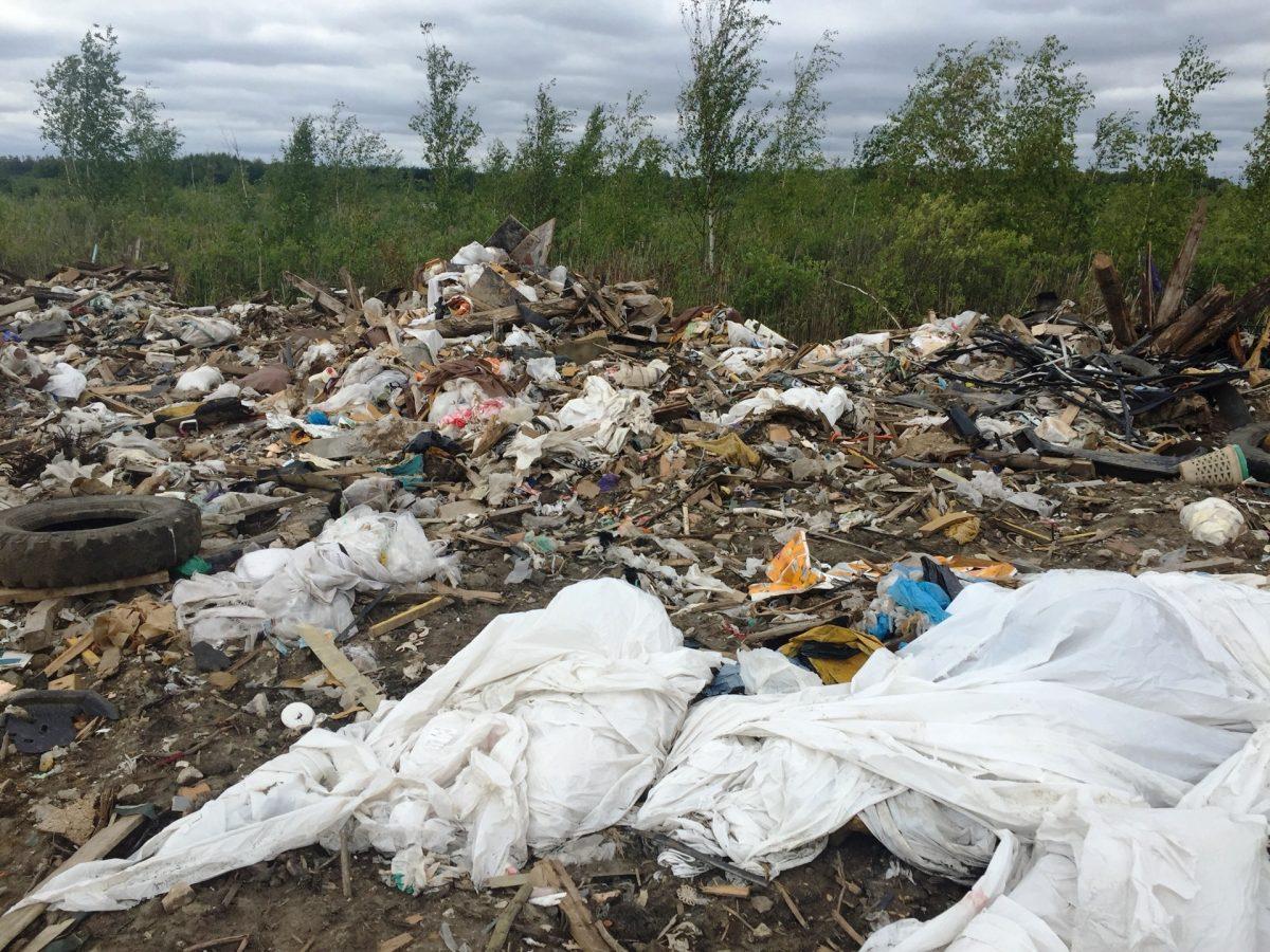 Учреждение Минобороны России оштрафовали на 400 тысяч рублей за масштабную свалку в Нижем Новгороде