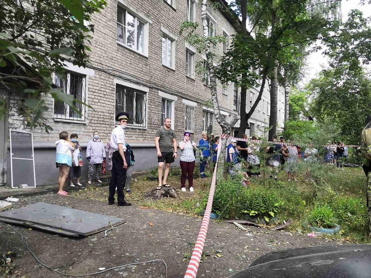 Хлопок газа произошел в жилом доме на улице Светлоярской в Нижнем Новгороде