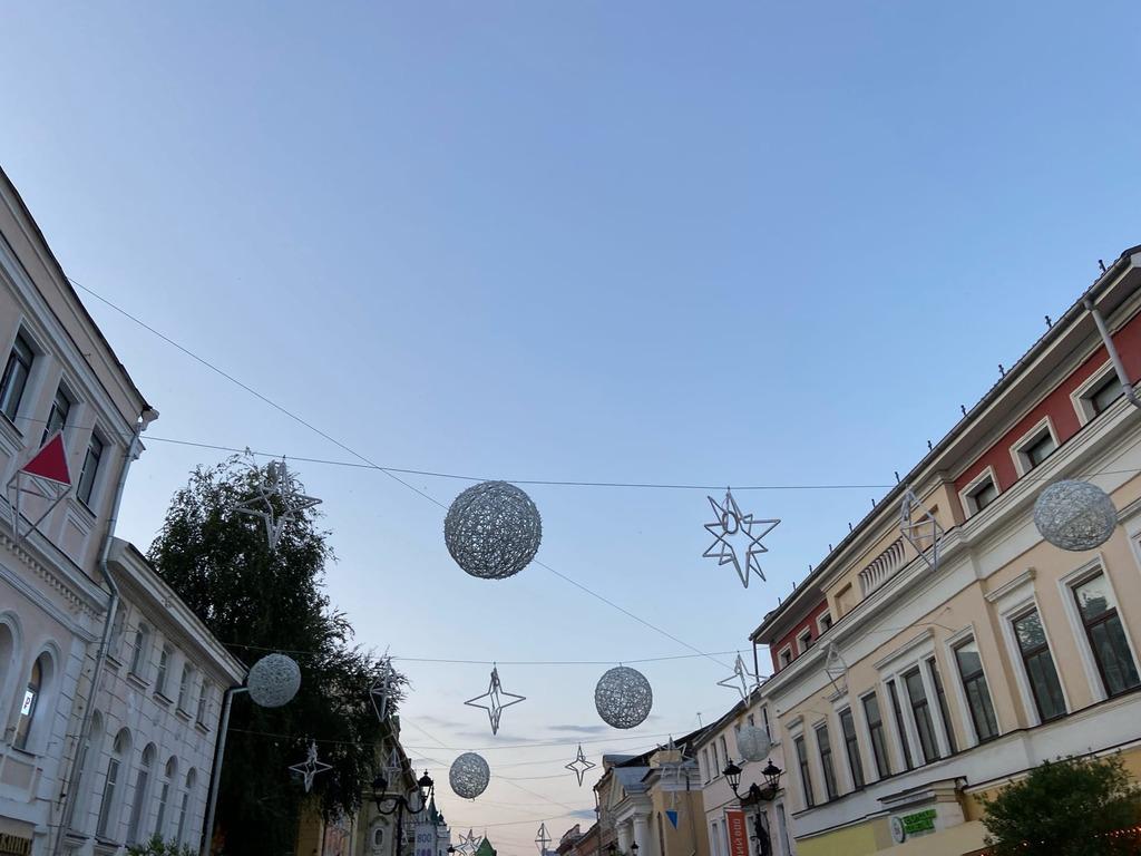 Световой потолок появится на улице Большая Покровская к 800-летию Нижнего Новгорода